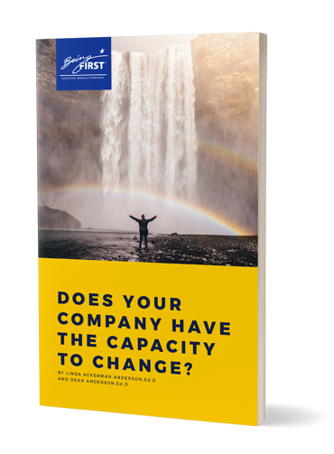 Does Your Company Have the Capacity to Change? - Resource